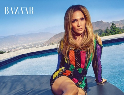 Jennifer Lopez's Harper's Bazaar Photo Shoot Will Make You Forget Winter Is Coming